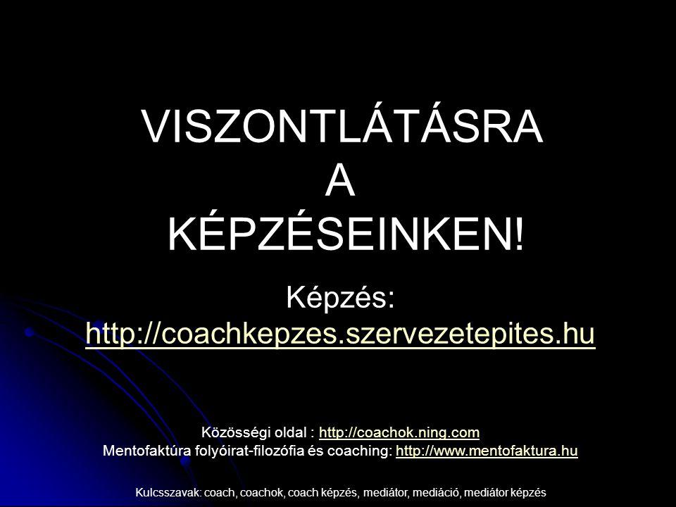 VISZONTLÁTÁSRA A KÉPZÉSEINKEN!