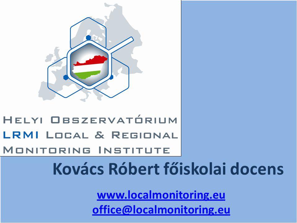 Kovács Róbert főiskolai docens