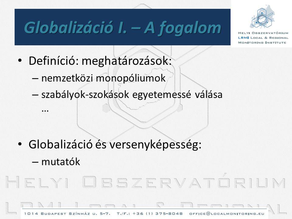 Globalizáció I. – A fogalom
