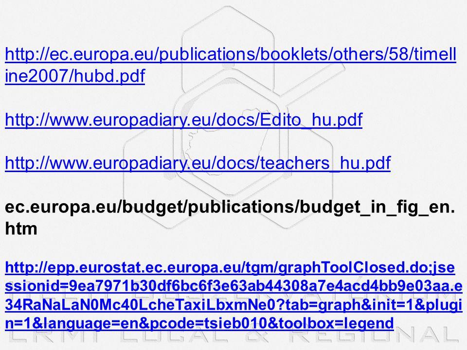 http://ec.europa.eu/publications/booklets/others/58/timelline2007/hubd.pdf http://www.europadiary.eu/docs/Edito_hu.pdf.