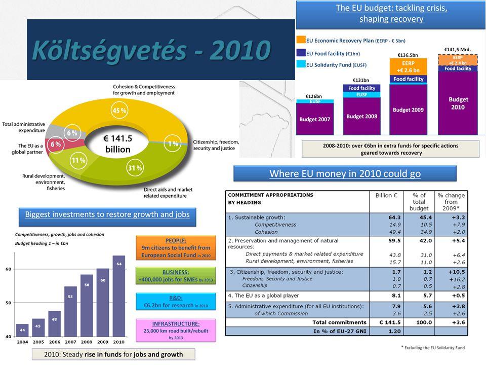Költségvetés - 2010