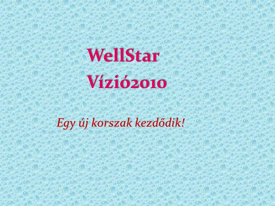 WellStar Vízió2010 Egy új korszak kezdődik!