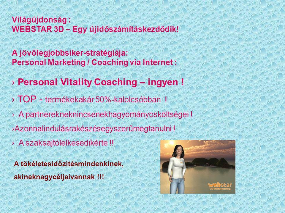 Personal Vitality Coaching – ingyen !