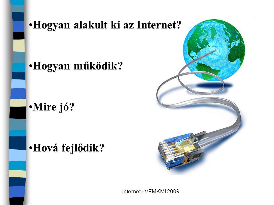 Hogyan alakult ki az Internet