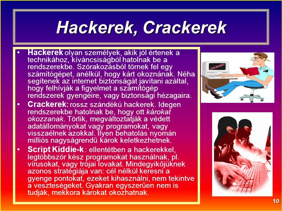 Hackerek, Crackerek