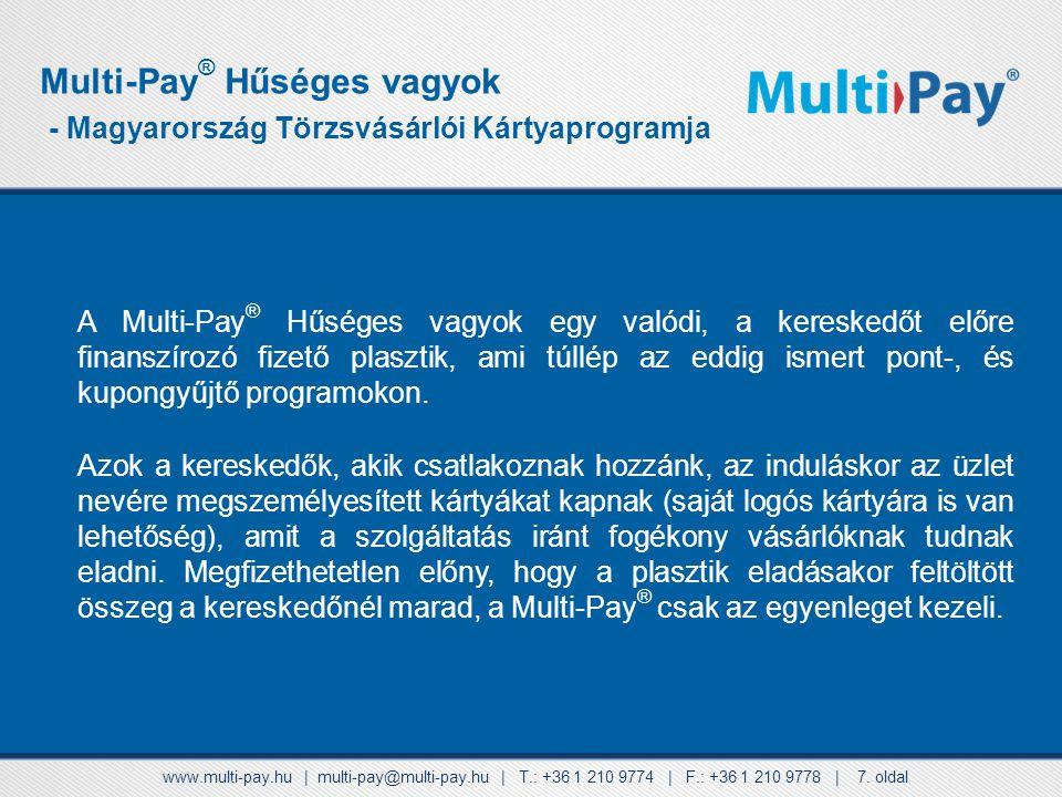 Multi-Pay® Hűséges vagyok