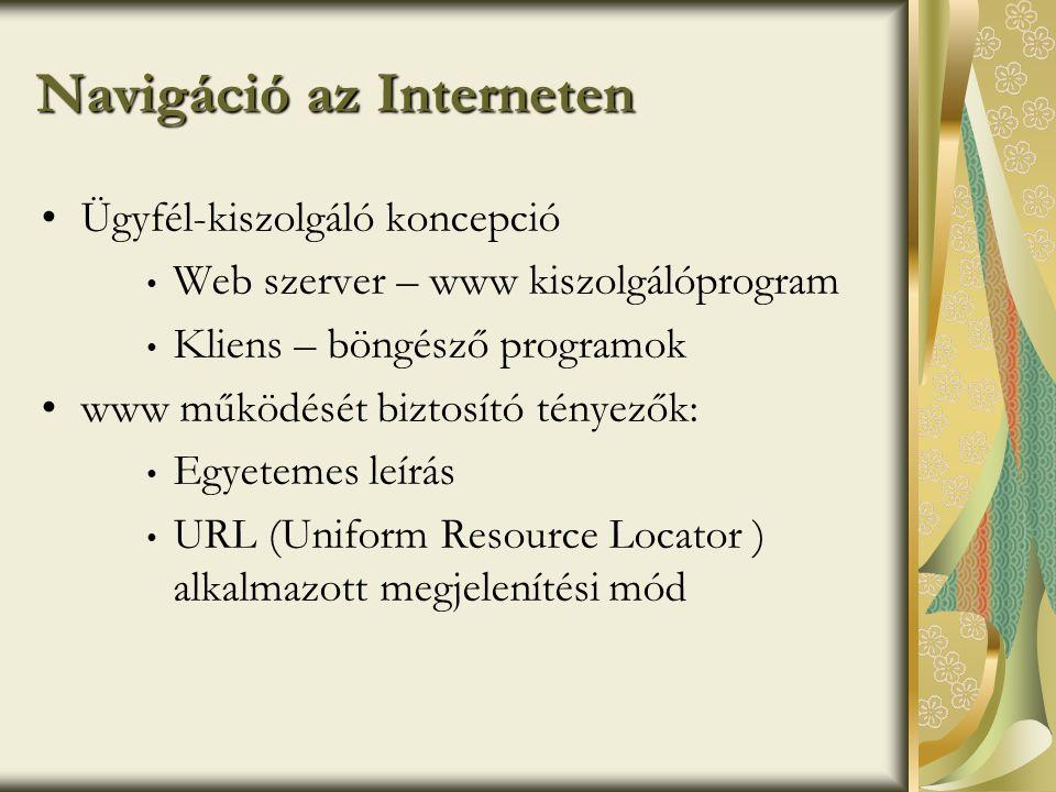 Navigáció az Interneten