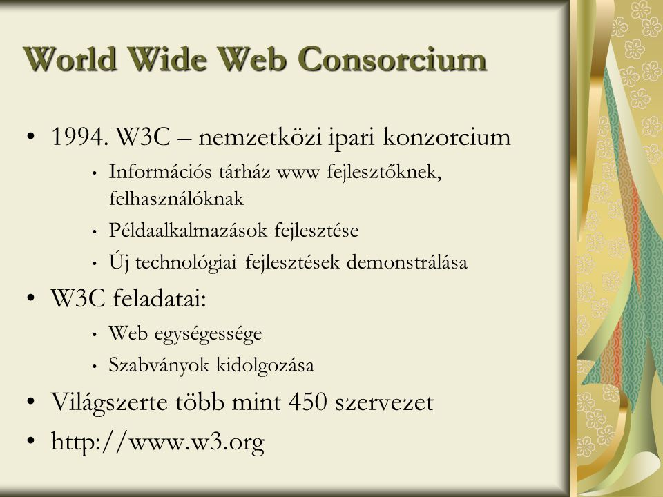 World Wide Web Consorcium