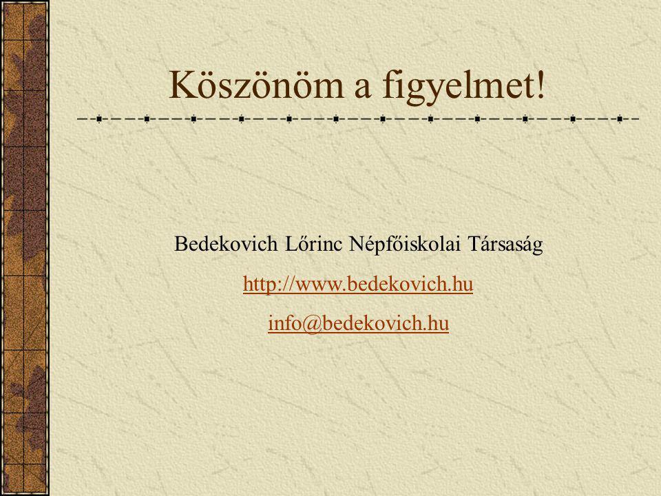Bedekovich Lőrinc Népfőiskolai Társaság