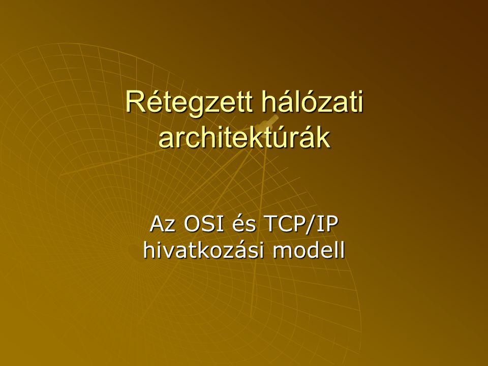 Rétegzett hálózati architektúrák