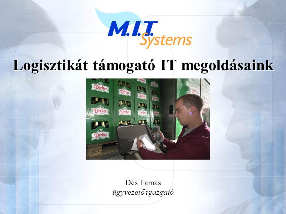 Logisztikát támogató IT megoldásaink