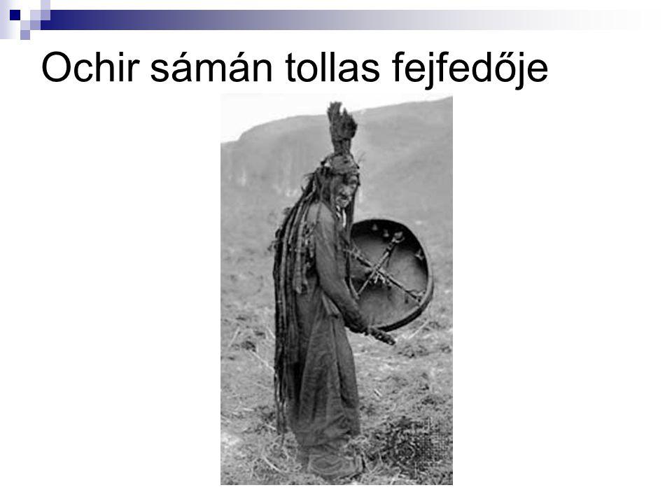 Ochir sámán tollas fejfedője