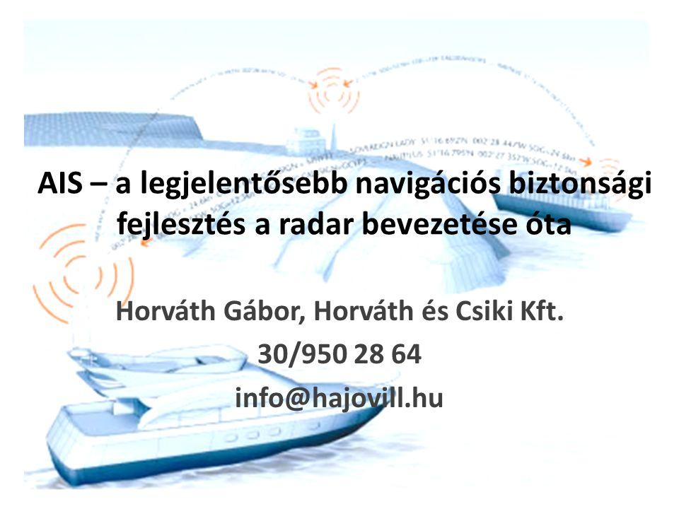 Horváth Gábor, Horváth és Csiki Kft. 30/950 28 64 info@hajovill.hu