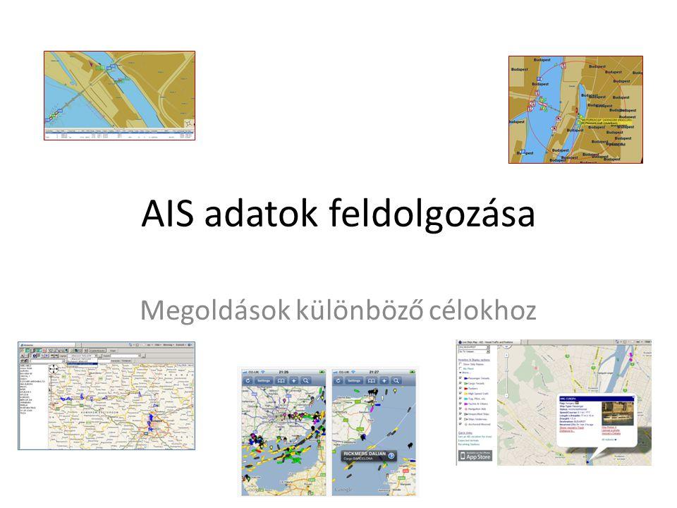 AIS adatok feldolgozása