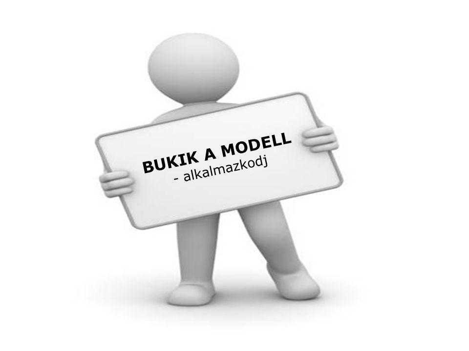 BUKIK A MODELL - alkalmazkodj