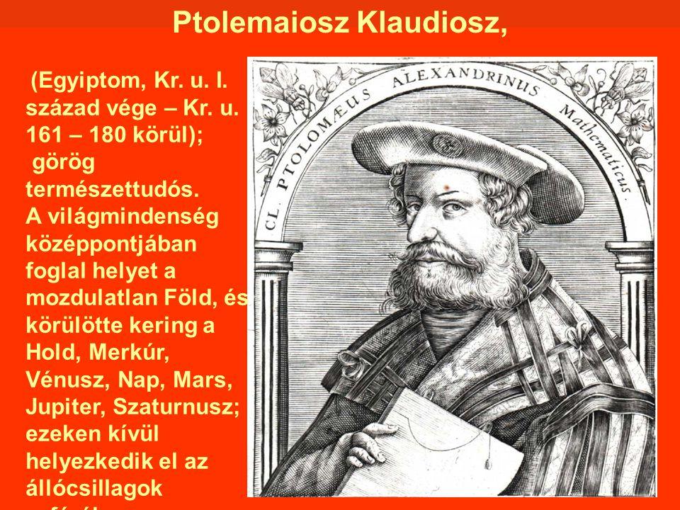 Ptolemaiosz Klaudiosz,