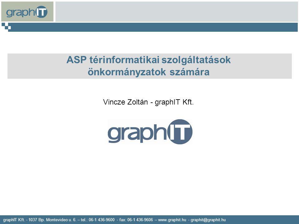 ASP térinformatikai szolgáltatások önkormányzatok számára