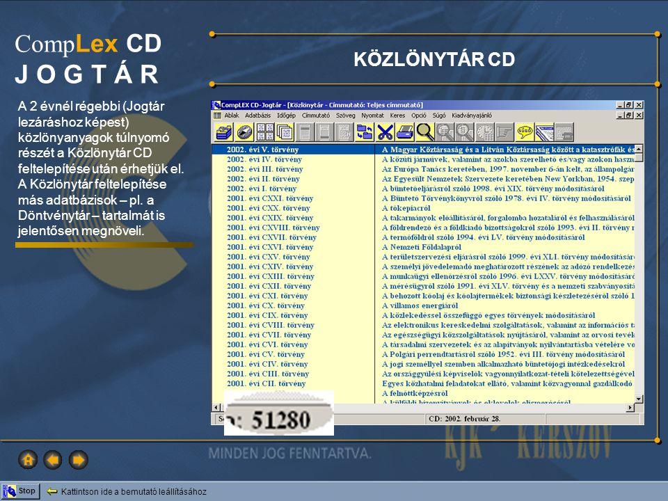 KÖZLÖNYTÁR CD