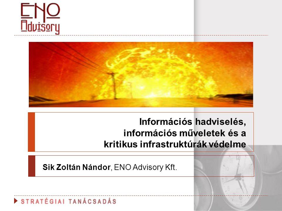Sik Zoltán Nándor, ENO Advisory Kft.