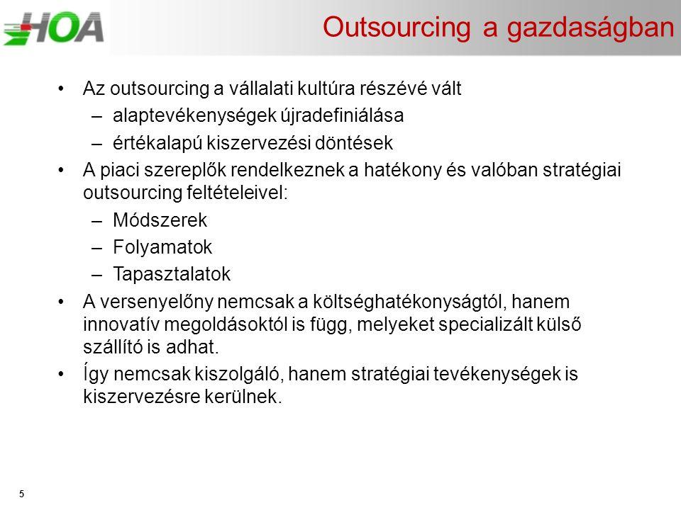 Outsourcing a gazdaságban