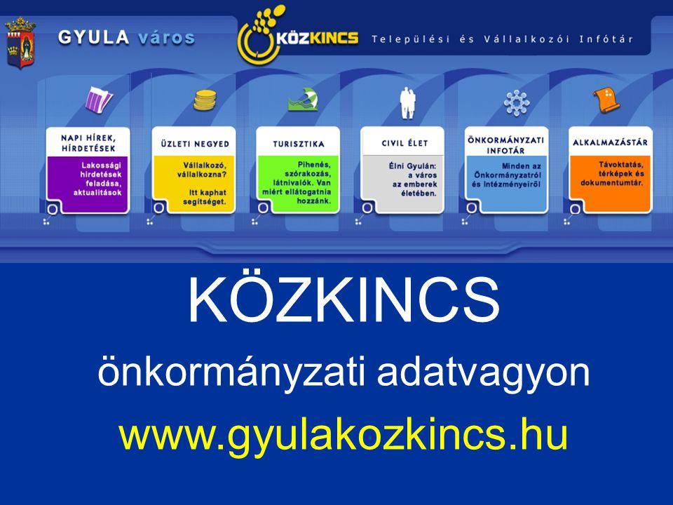 önkormányzati adatvagyon