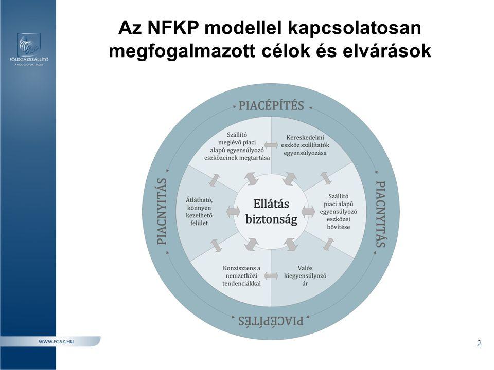 Az NFKP modellel kapcsolatosan megfogalmazott célok és elvárások