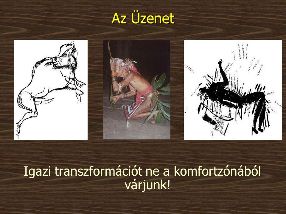Igazi transzformációt ne a komfortzónából várjunk!