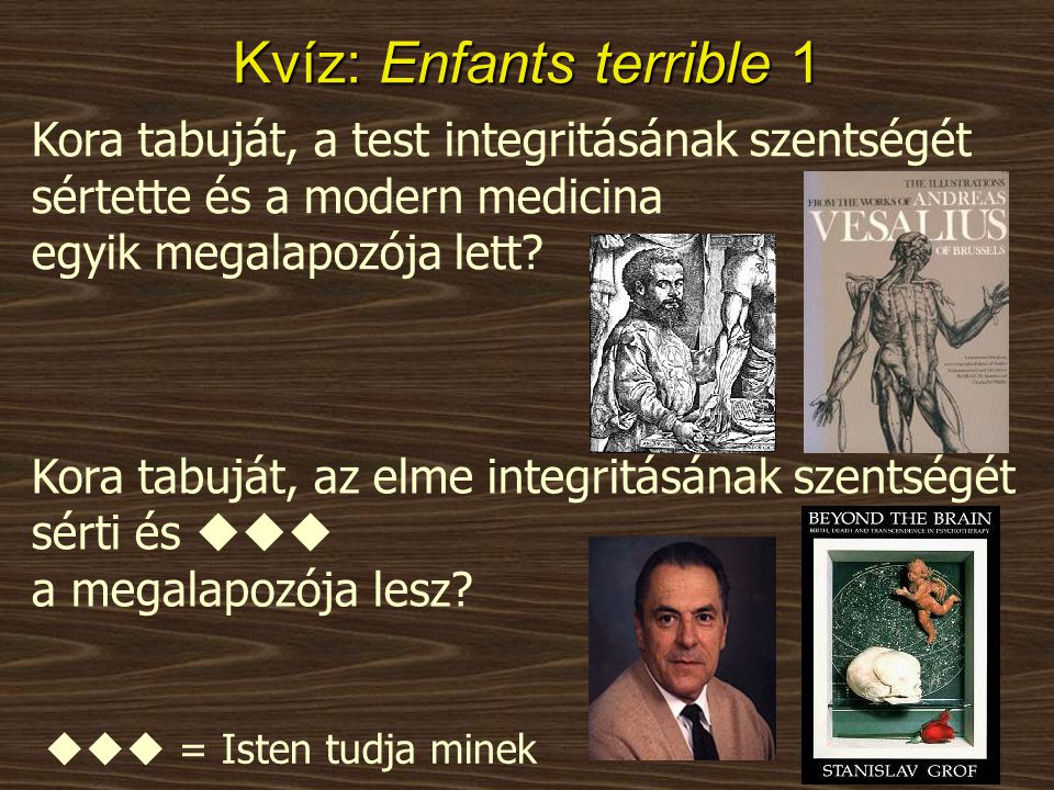 Kvíz: Enfants terrible 1