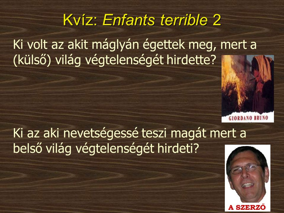 Kvíz: Enfants terrible 2