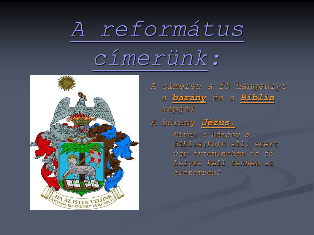 A református címerünk: