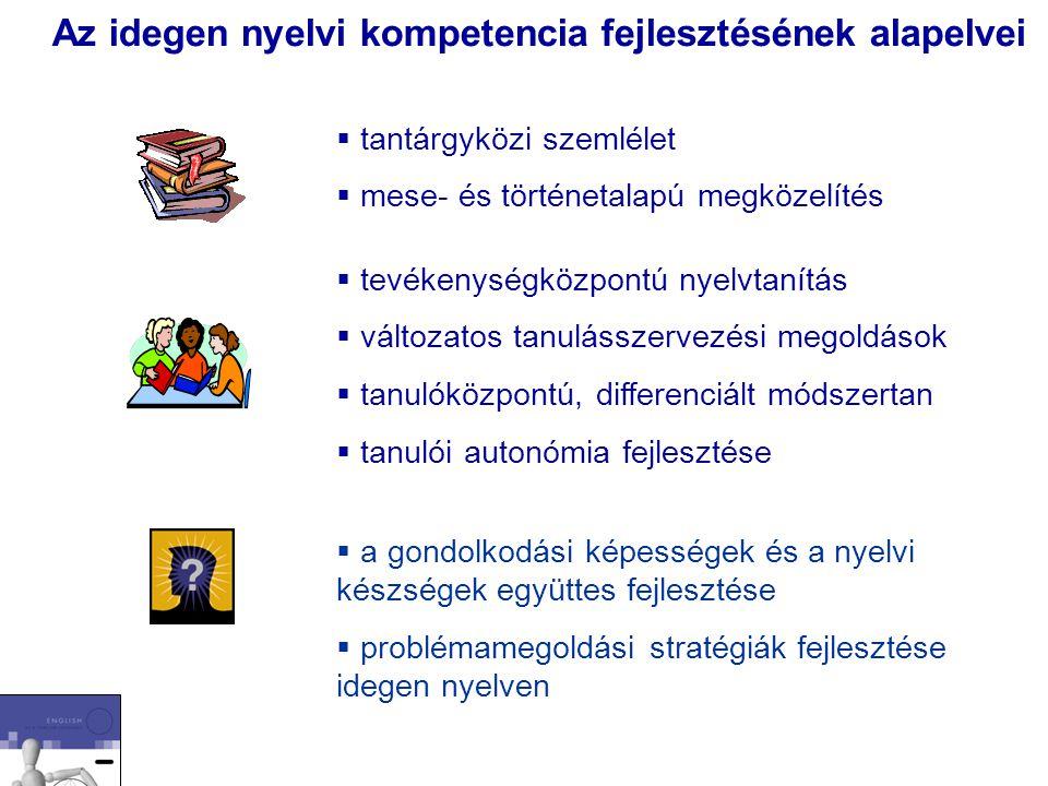 Az idegen nyelvi kompetencia fejlesztésének alapelvei