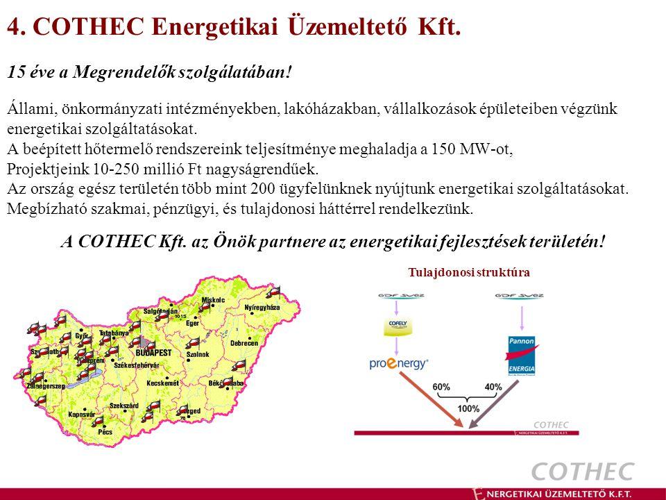 4. COTHEC Energetikai Üzemeltető Kft.