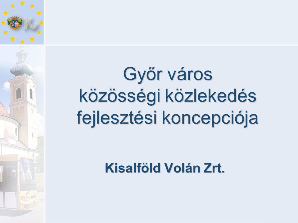 Győr város közösségi közlekedés fejlesztési koncepciója