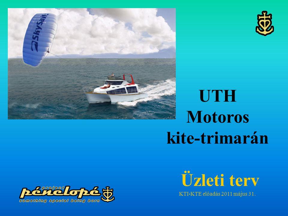 UTH Motoros kite-trimarán Üzleti terv
