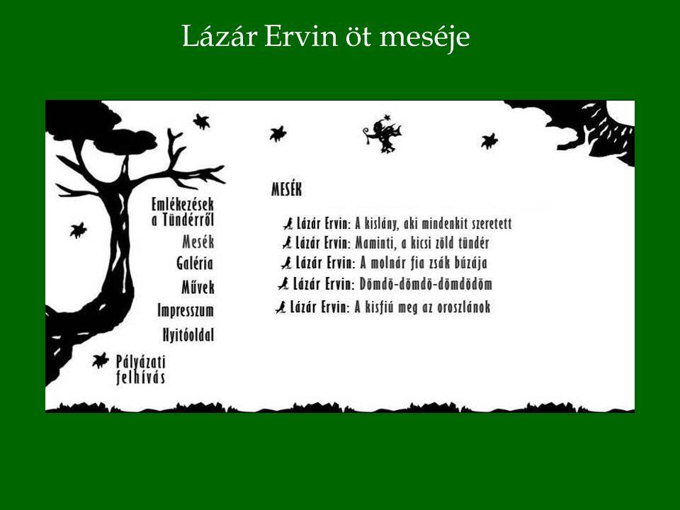 Lázár Ervin öt meséje
