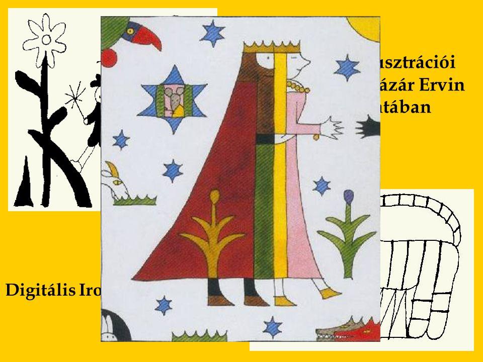 Réber László illusztrációi az Osiris Kiadó Lázár Ervin