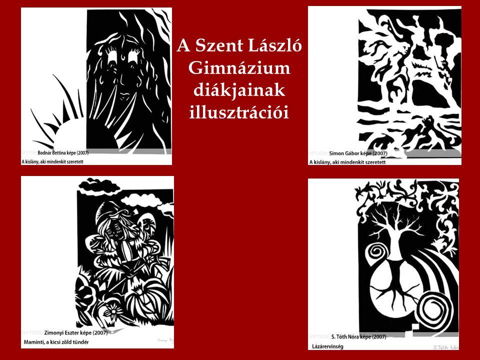 A Szent László Gimnázium diákjainak illusztrációi