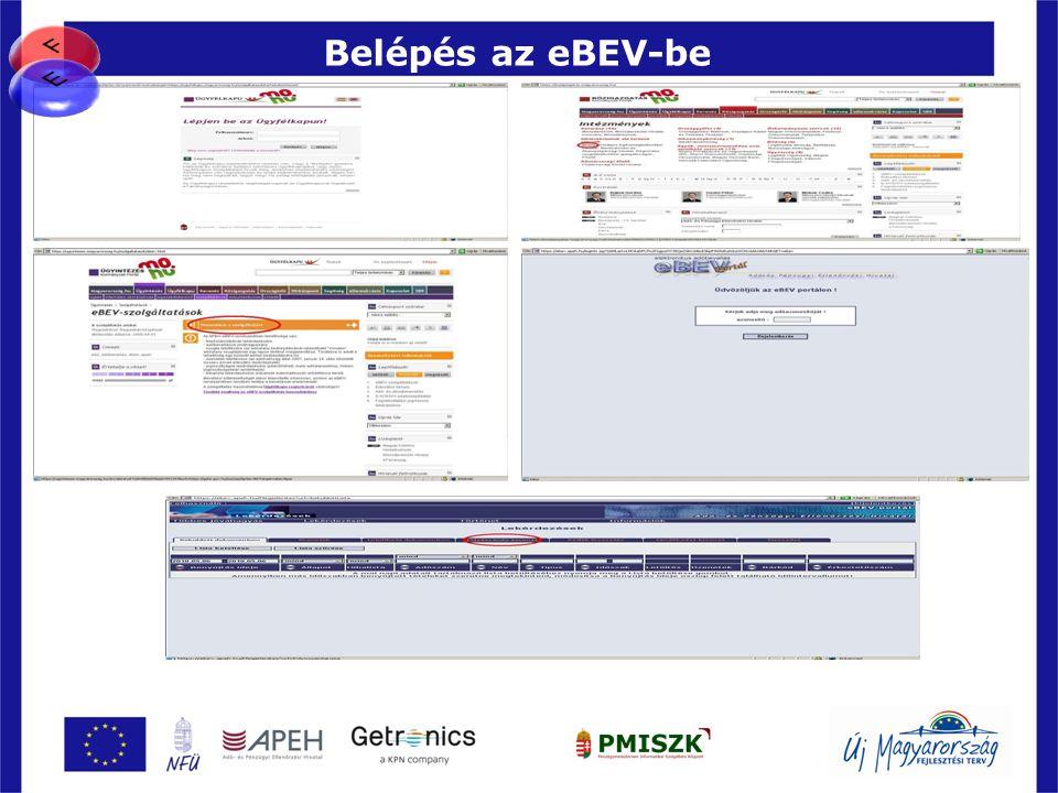 Belépés az eBEV-be (APEH elektronikus bevallási rendszer)
