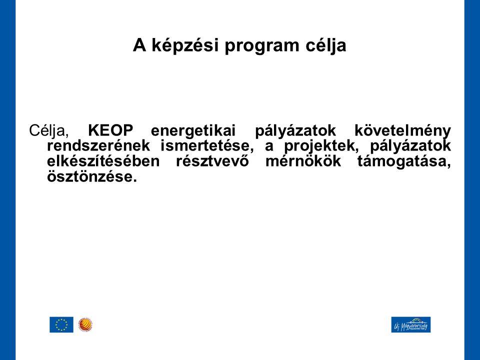 A képzési program célja