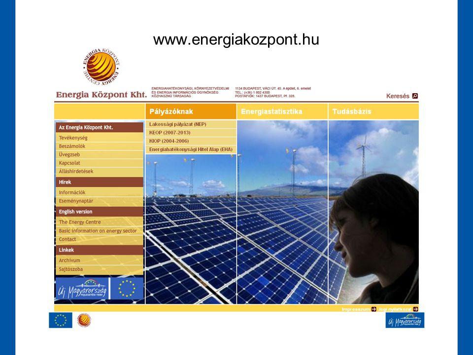 www.energiakozpont.hu www.energiakozpont.hu
