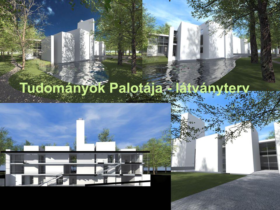 Tudományok Palotája - látványterv