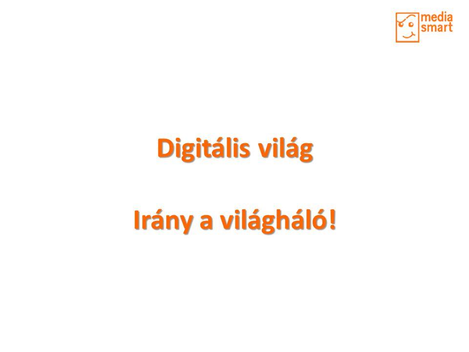 Digitális világ Irány a világháló!
