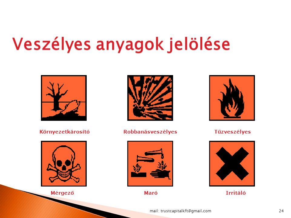 Veszélyes anyagok jelölése