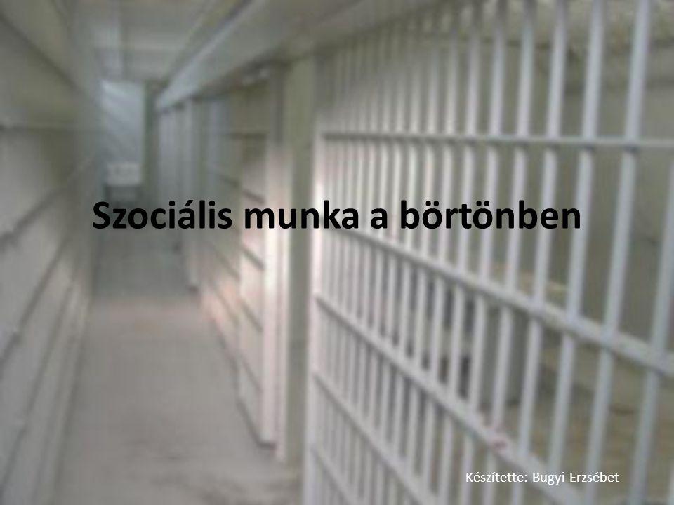 Szociális munka a börtönben
