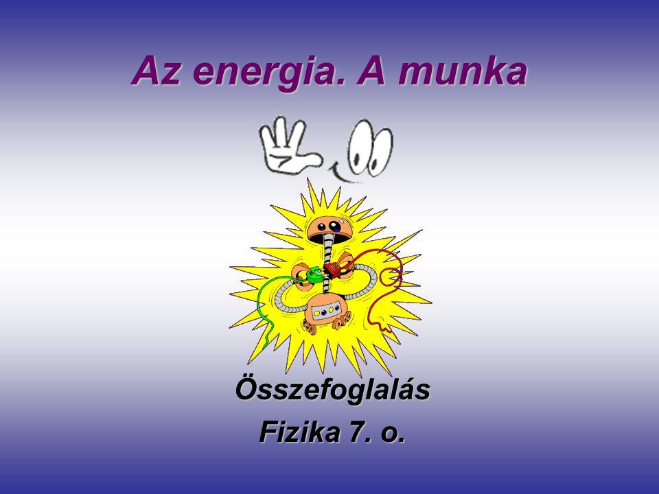 Összefoglalás Fizika 7. o.