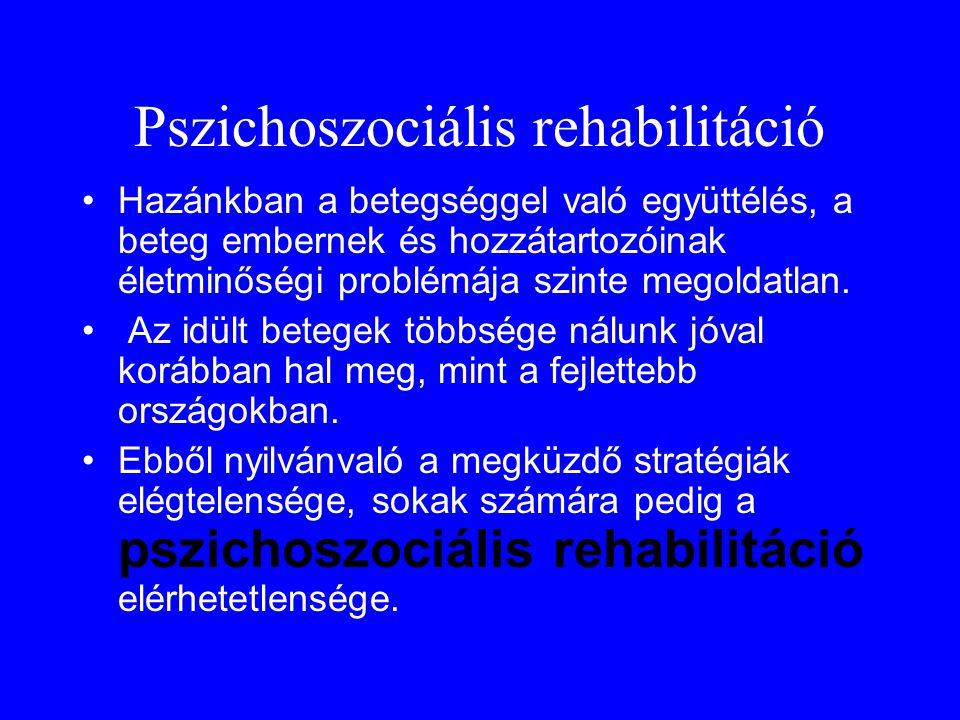 Pszichoszociális rehabilitáció