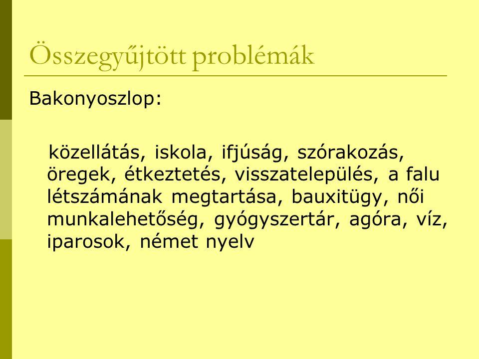 Összegyűjtött problémák
