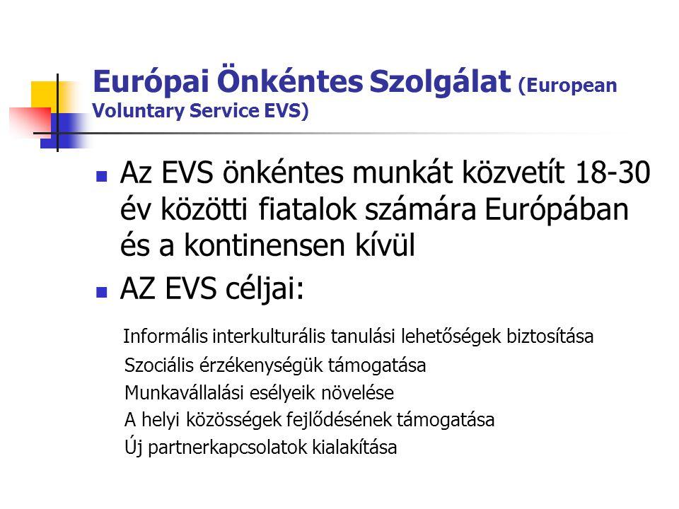 Európai Önkéntes Szolgálat (European Voluntary Service EVS)