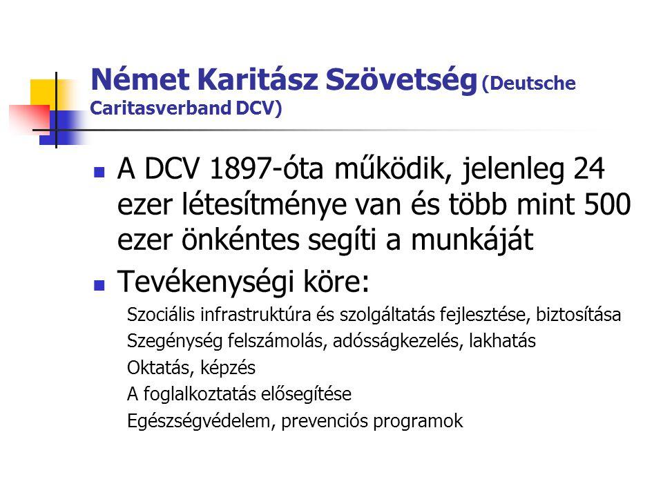 Német Karitász Szövetség (Deutsche Caritasverband DCV)