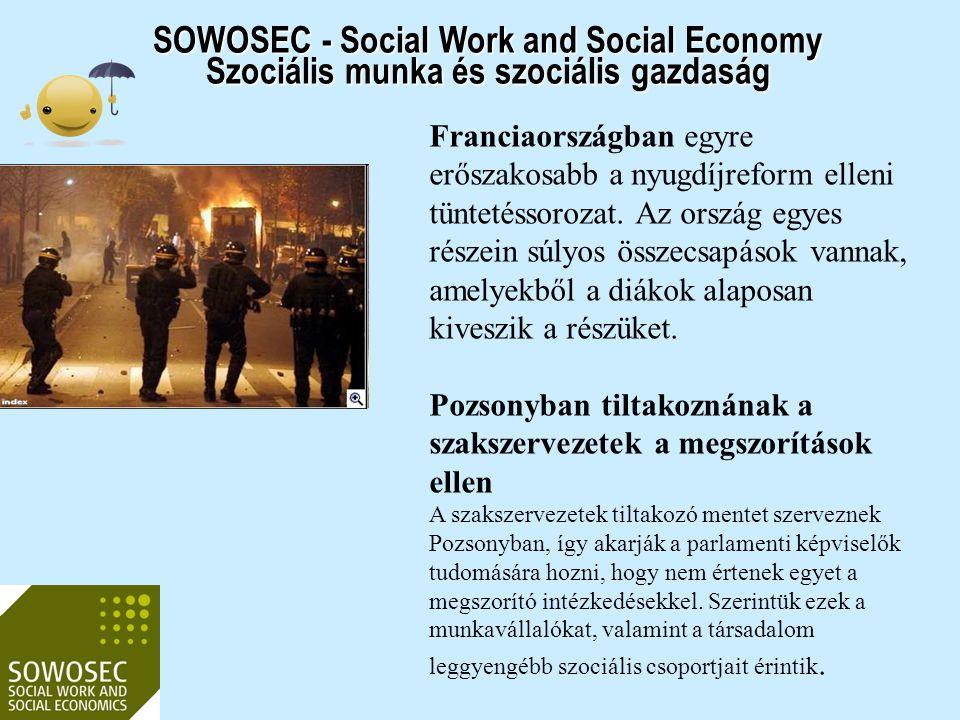 2017.04.03. SOWOSEC - Social Work and Social Economy Szociális munka és szociális gazdaság.